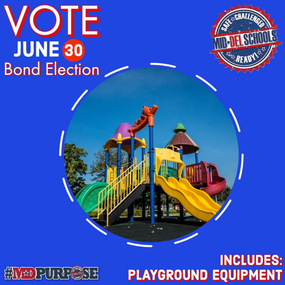 Mid-Del Schools June 30th Bond Election - Playground Equipment
