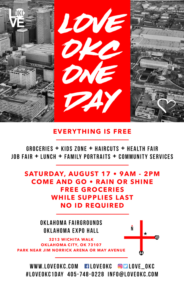 LOVE OKC ONE DAY August 17, 2019