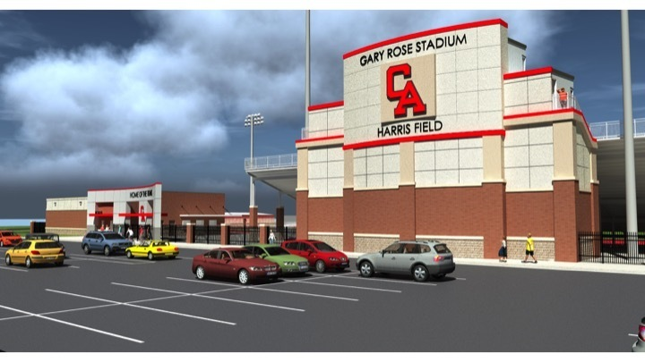 Titans' Stadium to be Named Gary Rose Stadium Harris Field
