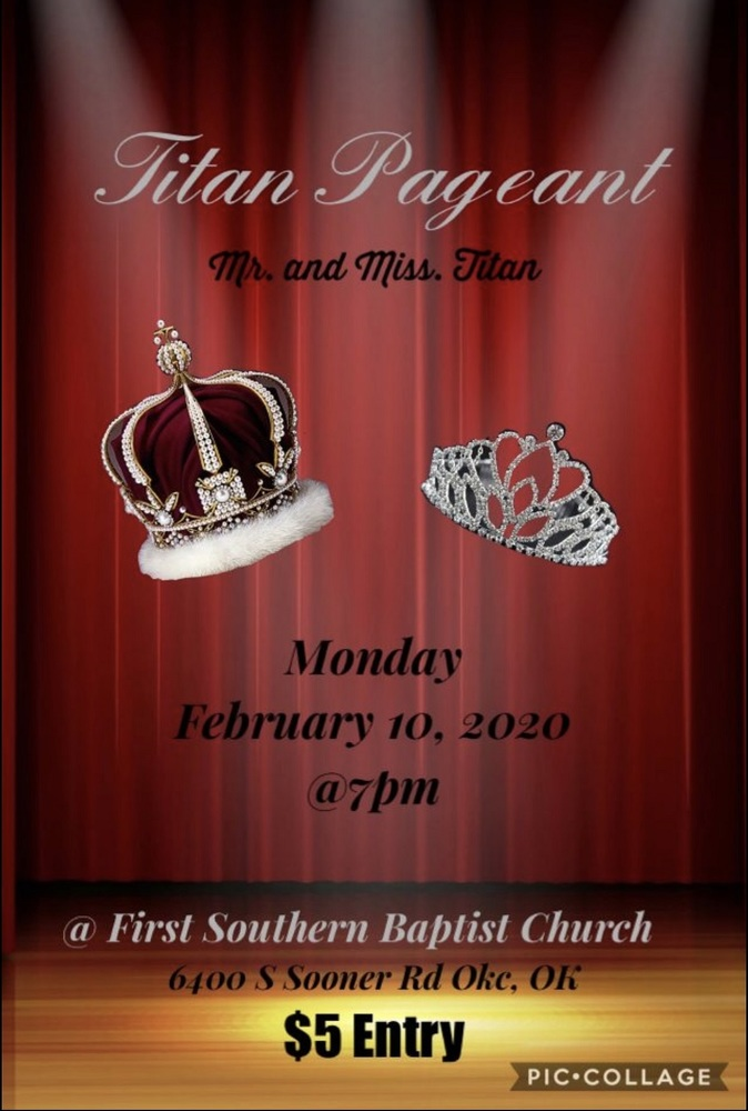 2020 CAHS Titan Pageant