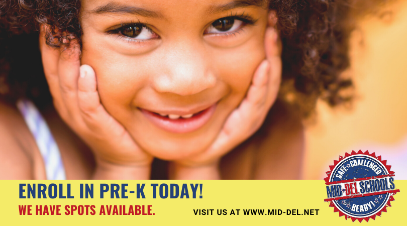 We Have Pre-K Openings in Mid-Del. Enroll Today!