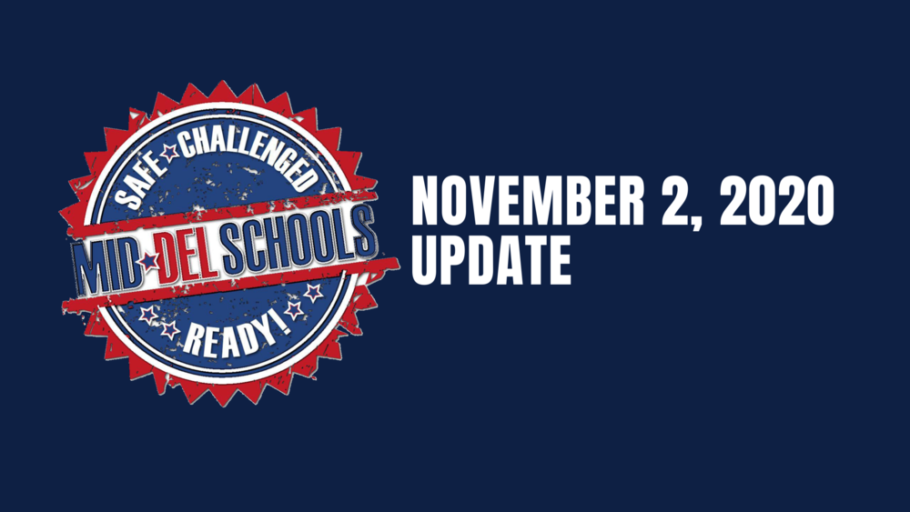 Update for Return to School 11-2-2020