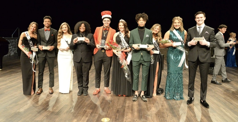 2020 Titan Pageant Court