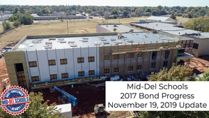 2017 Bond Election Progress Update (11/19/19)