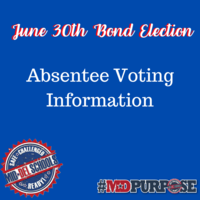Mid-Del Schools June 30th Bond Election - Absentee Voting Information