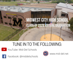 WATCH MIDWEST CITY HIGH SCHOOL'S CLASS OF 2020 GRADUATION