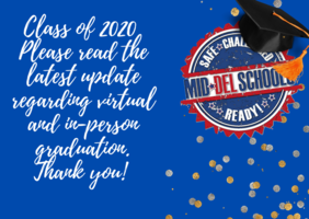 Class of 2020 Update: Virtual and In-Person Graduation