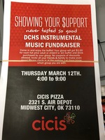 Support DCHS Instructional Music Fundraiser