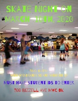 SKATE NIGHT TONIGHT