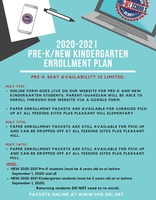 2020-2021 Pre-K/Kindergarten Enrollment Round-Up Information