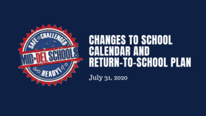 School Calendar Changes and A/B Schedule