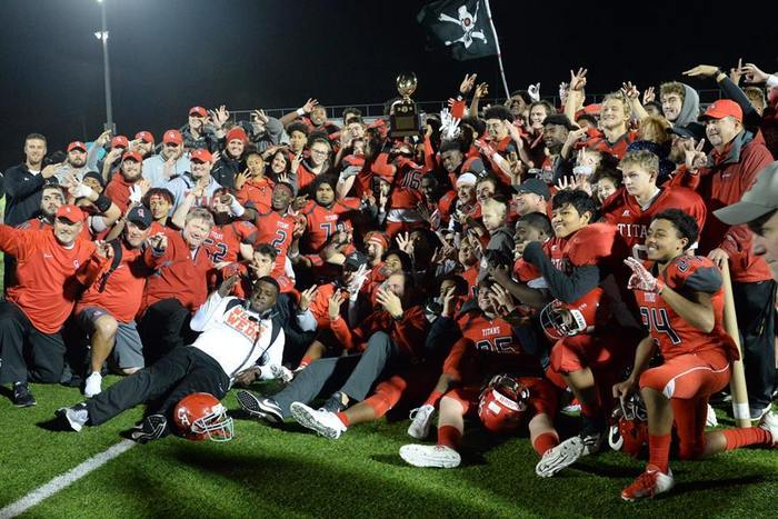 CAHS Football Wins Third Straight State Title
