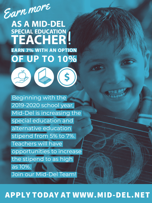 Earn More as a Mid-Del Special Education Teacher!