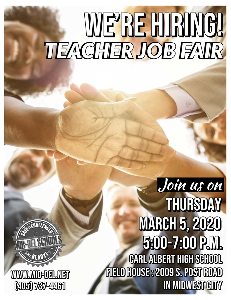 Teacher Job Fair Flyer